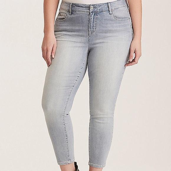 36c88d60ded Premium Stretch High Rise Curve Skinny Jeans